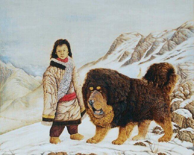 Тибетский мастиф история